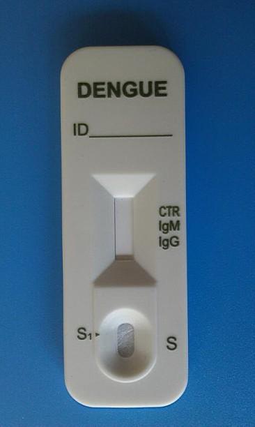 Rápida del dengue igg/igm prueba