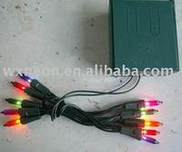 minature battery string light/button battery operated string lights/cheap battery operated string lights