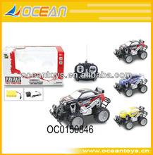 Full function 4 channel radio control toy car