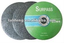 abrasives disk/cutting disc for ss/abrasive wheel