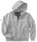 men's organic zip-up hoody
