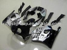 ABS fairing kit for MC22 CBR250RR BLACK&SILVER fairing