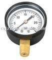 50 mm estándar indicador de presión de plástico Windown