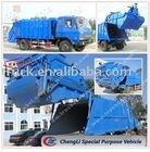 compression refuse truck used fuso fighter trucks
