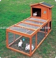 Item no. RK-24 Popular Wooden Rabbit Hutch