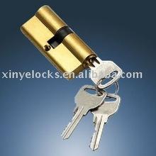 60mm aluminum door cylinder lock