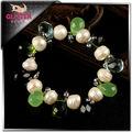 funky y perla de coral pulsera de la joyería señora más barato accesorios para damas