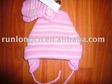 2013 hot sale head hat and gloves