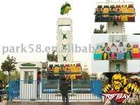 amusement park rides equipment MINI Frog jump