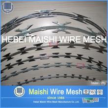 Hot Diped Galvanized Razor Barbed Wire (z)