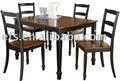 baratos simplicidade moderna mesa de jantar e conjuntos de jantar