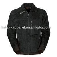 Black Fall Fleece Jacket for Men
