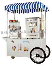 Ice cream machine combination mobile vehicleQCE-F08