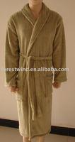 100% cotton cheap terry bathrobe