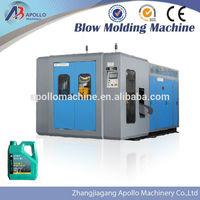 full-auto plastic blow molding machine with deflashing unit