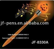 Halloween pumpkin music light flashing Pen