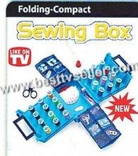 Folding Compact Sewing Box