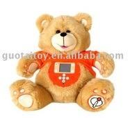 2012 plush MP3 teddy bear