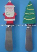 polyresin christmas butter knife