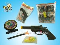 2014 NEW -Kids Favorite Shooting Gun Toy Sets Candy In Bag/ Gun Toys For Kids