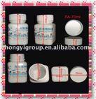 plastic square drug container 70ml(plastic pill vials,plastic drug vials,plastic medicine bottles)