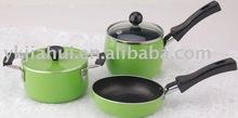 5pcs Aluminium Non Stick Mini cookware set