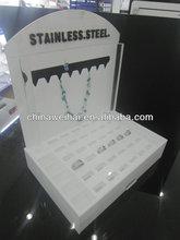 display box for rings,2012 new design ring display box