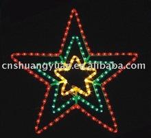christmas star light ,LED decorative light