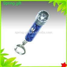 promotion led key chain,metal led key chain
