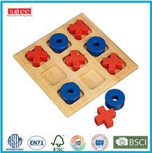 de madera maciza juego de tablero