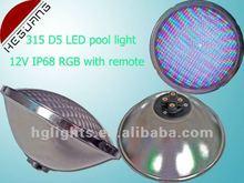 18W 315pcs DIP5 swimming pool led lights par56 with IP68