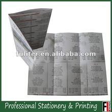 2012 Foldable Leaflet flyer