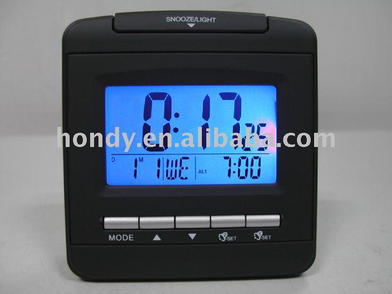 radio controlled alarm clock buy clock digital clock travel alarm clock pro. Black Bedroom Furniture Sets. Home Design Ideas