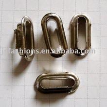 elliptical metal eyelet