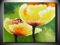 espátula de rosa flor pintura a óleo projetos de imagem