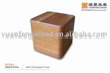 REGAL wooden urn boxes