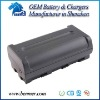 Camcorder battery For SHARP BT-L445