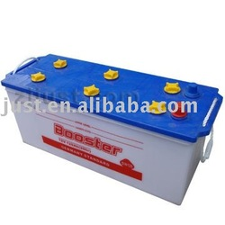 dry charged car battery 120Ah