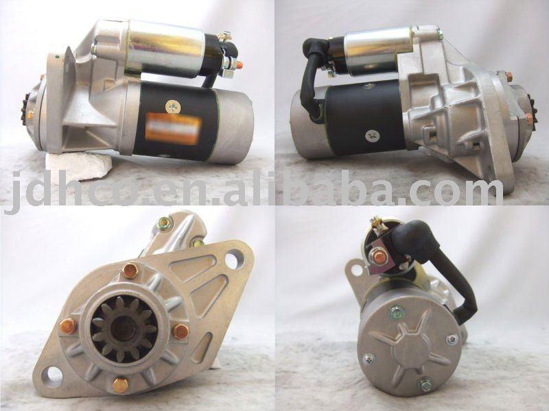 Motor de arranque del motor isuzu npr nqr nkr parte s25-163 s25-300 s25-308 s25-505 8970958112 4hf1 4hg1 4hj1 4hl1 4hk1 4he1 parte del motor