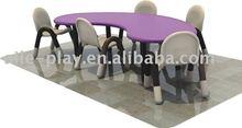 Kindergarten Furniture-Kids' Plastic Table IFP-002