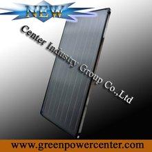 All copper flat plate solar collectors