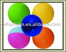 rubber hollow ball