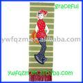 Chinês da empregada doméstica de bambu foto