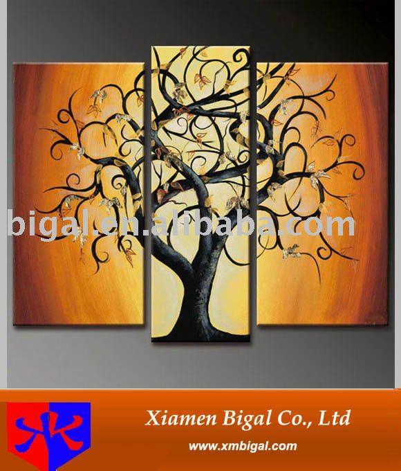 Grupo pintado a mano decoración del árbol de imágenes-Pintura y ...