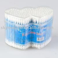 Double heart plastic cotton bubs