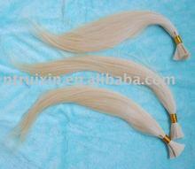 top quanlity 100% human hair bulk hair extension