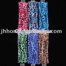 Leopard Nylon Headband polyester headband