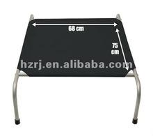 Folding metal pet bed