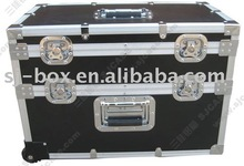aluminum dj table flight case