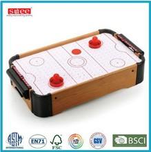 Mini Wooden air hockey Game set
